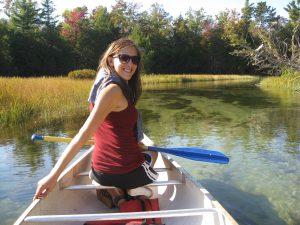 Crystal River paddler